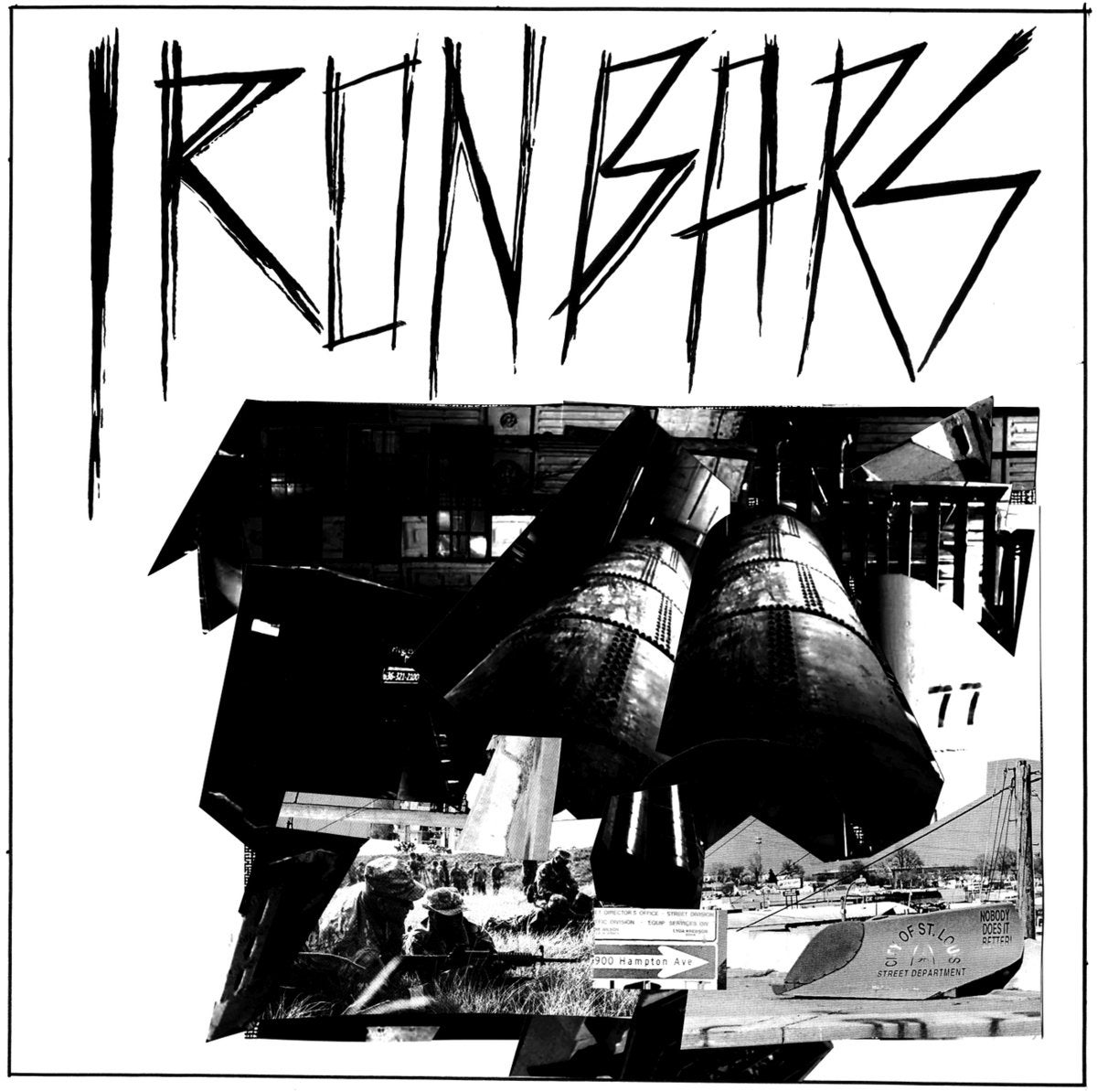 Iron Bars - self-titled LP