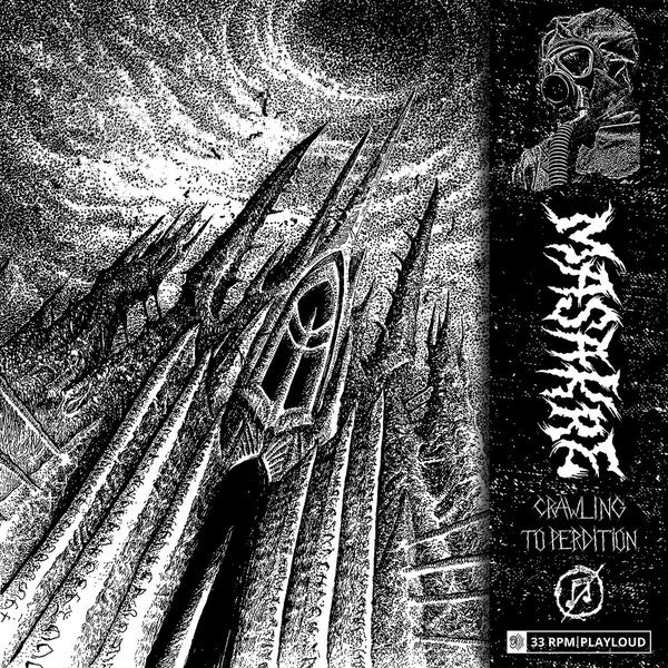 Masakre - Crawling to Perdition tape