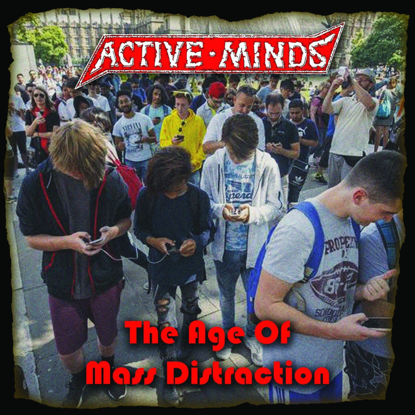 Active Minds - The Age of Mass Distraction LP