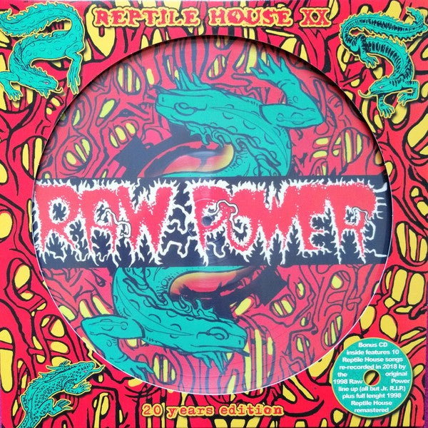 Raw Power - Reptile House LP+CD