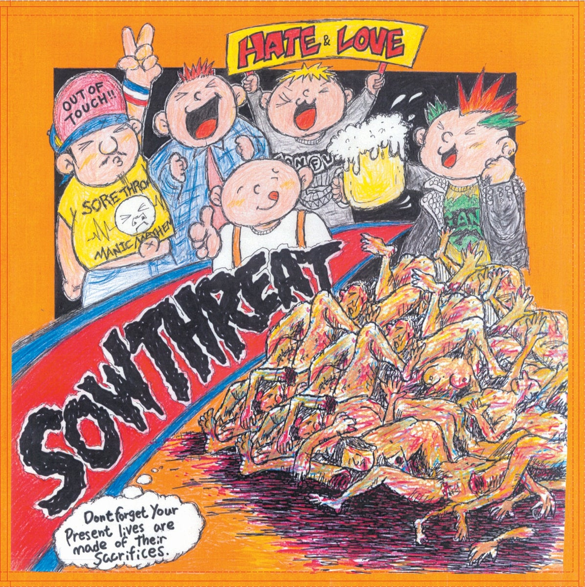 Sow Threat - Hate and Love LP