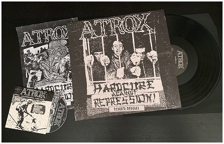 Atrox - Hardcore Against Repression 1985-1988 LP+CD