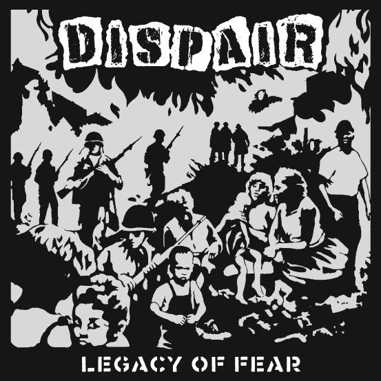 Dispair - Legacy of Fear LP