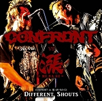 Confront/MiNaGi - Different Shouts split CD