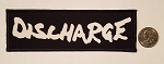 Discharge logo patch