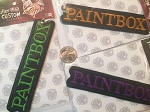 Paintbox logo embroidered patch