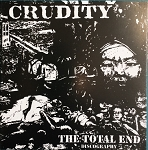 Crudity - The Total End discography CD