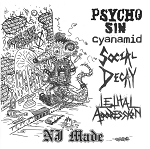V/A - NJ Made EP (w/ Psycho Sin, Cyanamid, Social Decay, Lethal Aggression)