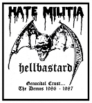 Hellbastard - Genocidal Crust: The Demos 1986-1987 CD