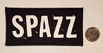 Spazz logo patch