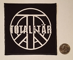 Totalitar square logo patch