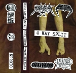 Morte Lenta/Malad/Dirty Harry/Gorgonized Dorks 4-way split tape